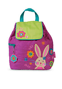 Quilted Backpack, Bunny