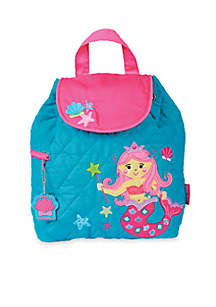 Quilted Backpack, Mermaid