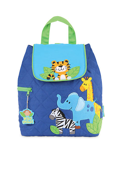 Quilted Boy Zoo Backpack