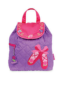 Quilted Backpack, Ballet Shoes