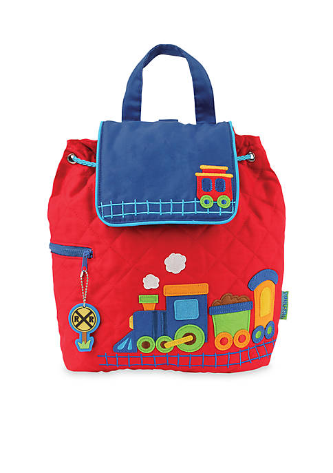 Quilted Backpack, Train
