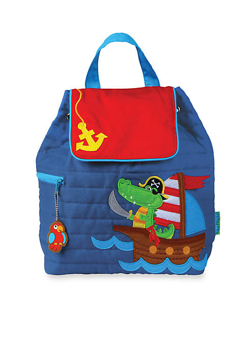 Quilted Backpack, Alligator Pirate