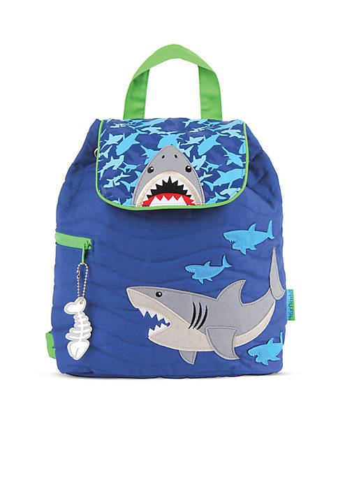 Quilted Backpack, Shark