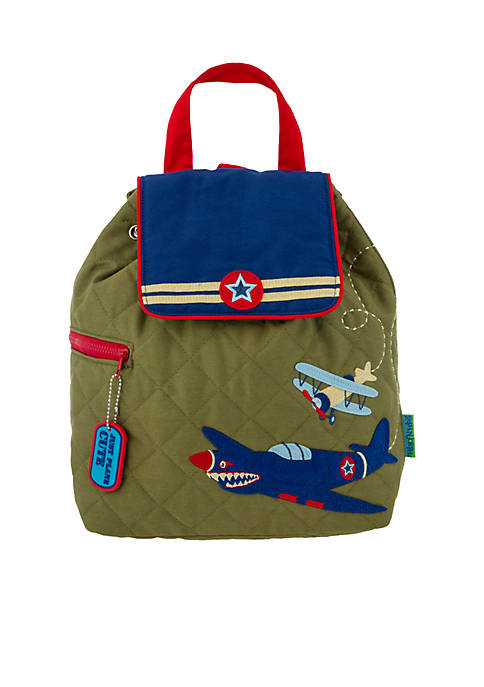 Airplane Quilted Backpack