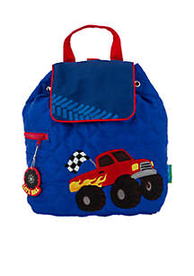 Monster Truck Quilted Backpack
