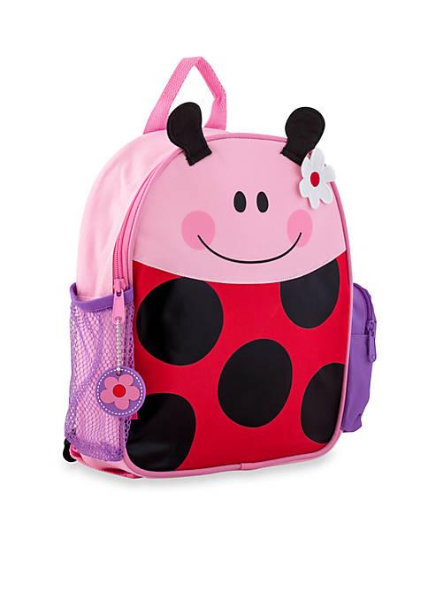 Stephen Joseph Mini Sidekick Backpack, Ladybug