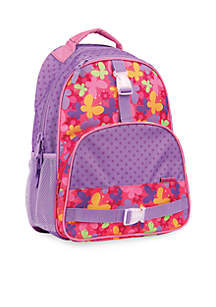 Allover Print Backpack, Butterfly