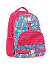 Allover Print Backpack, Owl