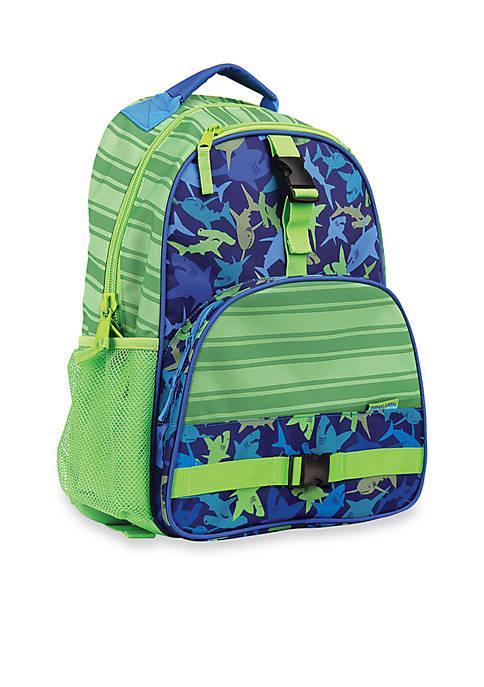 Stephen Joseph Allover Print Backpack, Shark