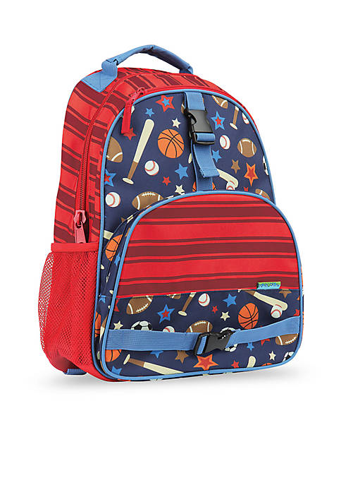 Allover Print Backpack, Sports