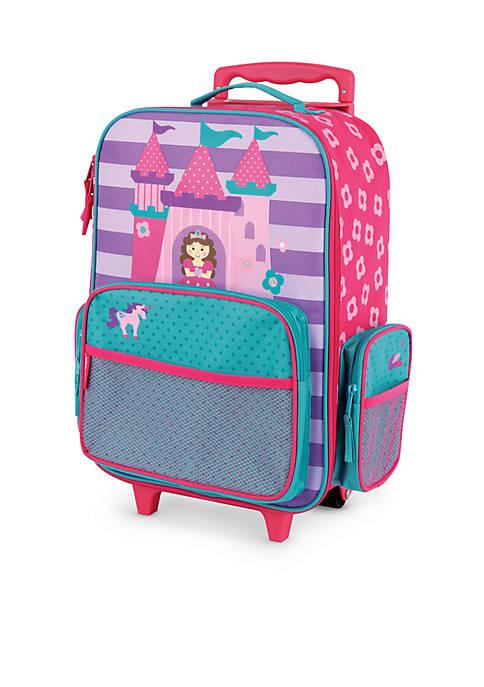 Stephen Joseph Classic Rolling Luggage Castle Princess