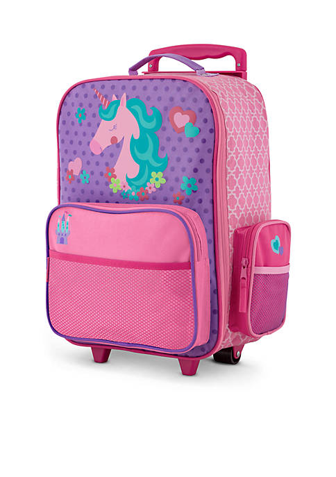 Stephen Joseph Classic Rolling Luggage Unicorn