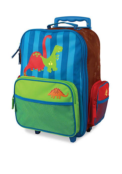 Stephen Joseph Classic Rolling Luggage Dino
