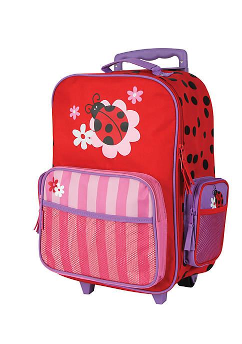Stephen Joseph Classic Rolling Luggage Ladybug