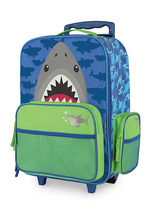 Classic Rolling Luggage: Shark