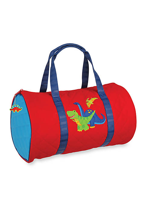 Stephen Joseph Quilted Duffle, Dino Red