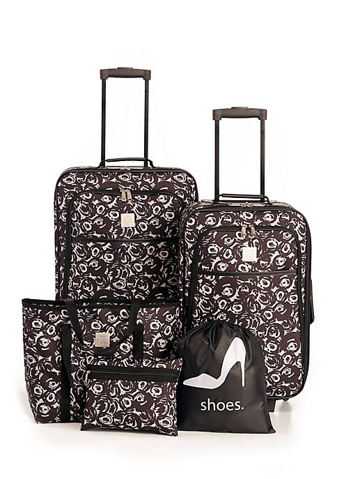 Modern. Southern. Home.™ Rose 5-Piece Luggage Set