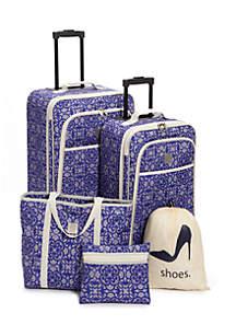 5-Piece Medallion Luggage Set