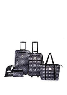 Modern. Southern. Home.™ Ikat 5 Piece Luggage Set