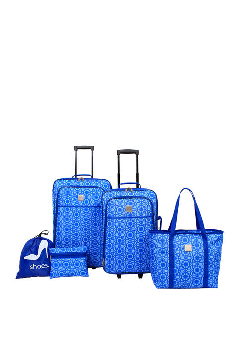 Modern. Southern. Home.™ 5 Piece Luggage Set