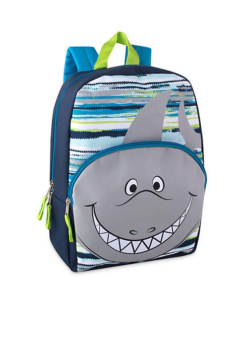 Lightning Bug Toddler Shark Backpack