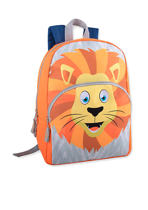 Lightning Bug Toddler Lion Backpack