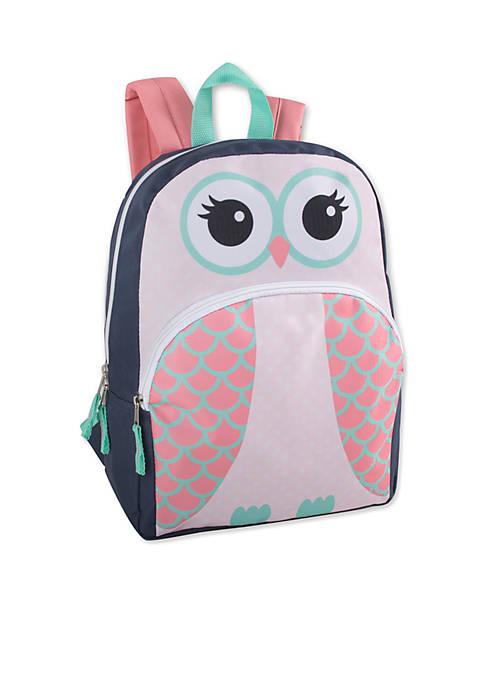Lightning Bug Toddler Owl Backpack