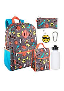 Schoolyard 6-in-1 Backpack Set