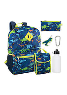 T-Rex 6-in-1 Backpack Set