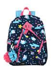 Unicorn Blue 6 in 1 Backpack Set