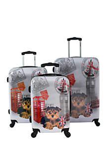 Three-Piece Luggage Set