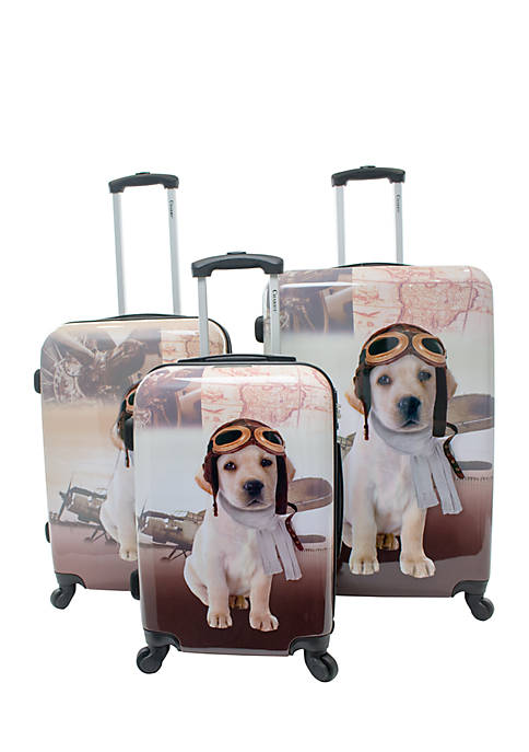 Chariot Three-Piece Luggage Set