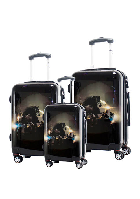 Chariot 3 Piece Stallion Luggage Set
