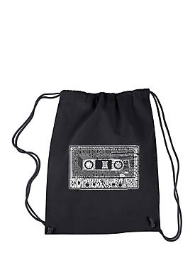 Drawstring Backpack-The 80s