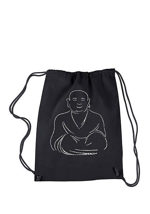 LA Pop Art Drawstring Backpack Positive Wishes