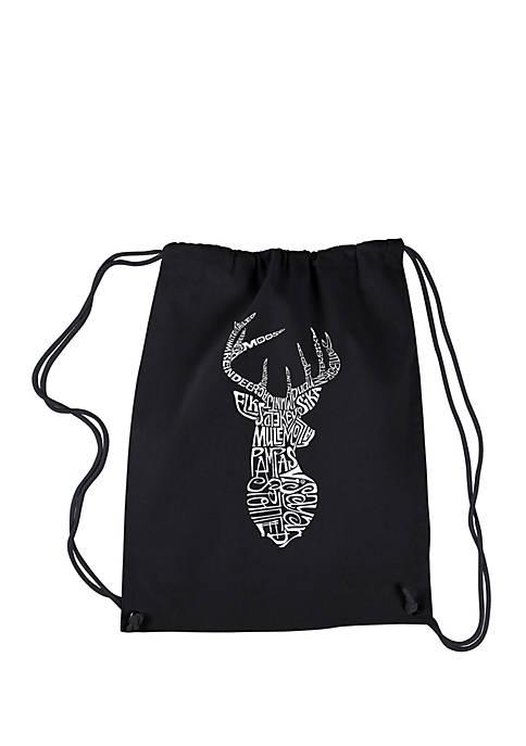 Drawstring Backpack-Types of Deer