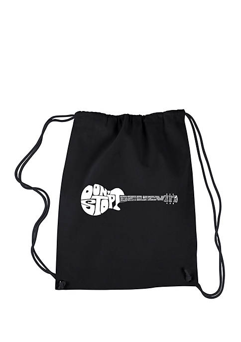 Drawstring Backpack-Dont Stop Believin