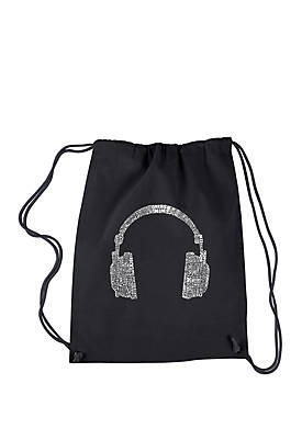 Drawstring Backpack-63 Different Genres of Music
