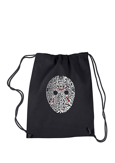 Drawstring Backpack-Slasher Movie Villains