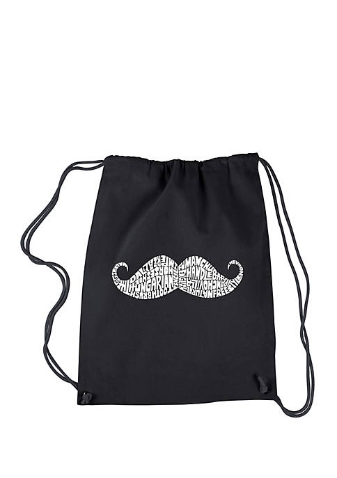 Drawstring Backpack - Ways To Style A Mustache