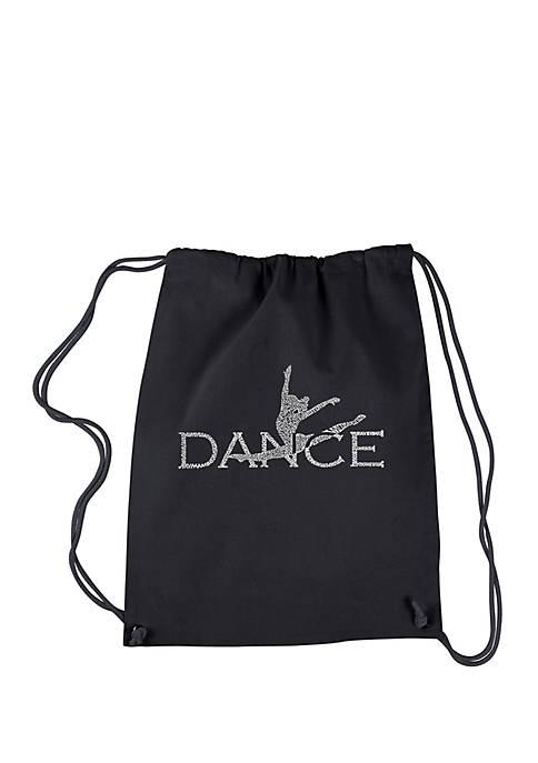 LA Pop Art Drawstring Backpack