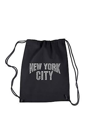 Drawstring Backpack - NYC Neighborhoods