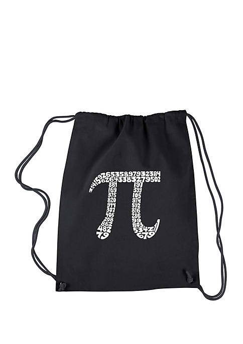Drawstring Backpack - The First 100 Digits of Pi