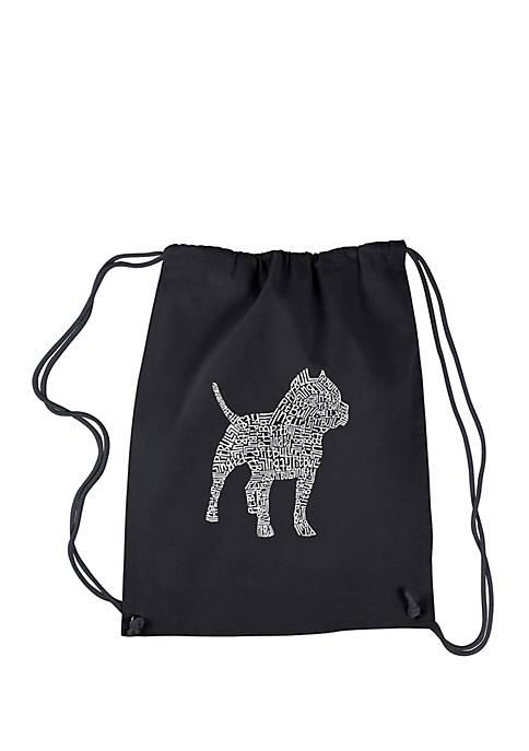 Drawstring Backpack - Pitbull