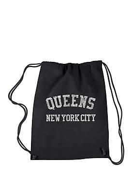 Drawstring Backpack - Popular Neighborhoods In Queens, NY