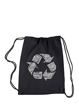Drawstring Backpack -86 Recyclable Products