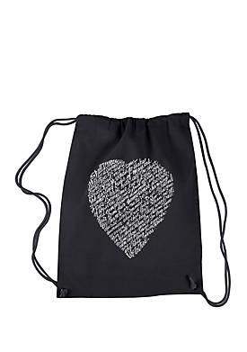 Drawstring Backpack - William Shakespeares Sonnet 18