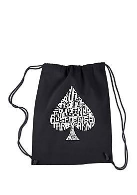 Drawstring Backpack - Order of Winning Poker Hands