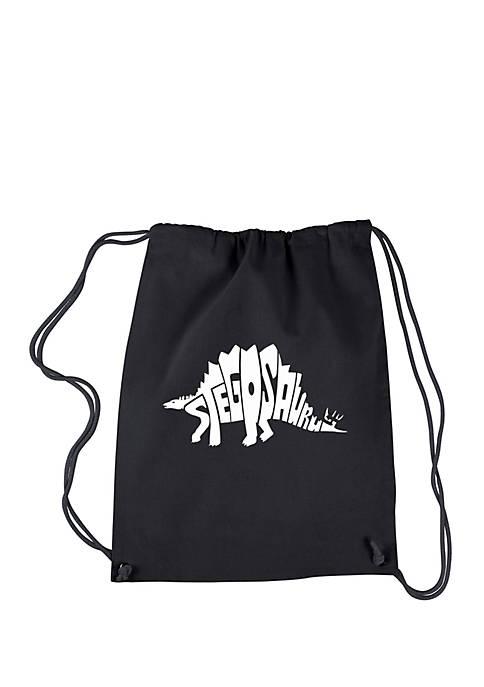 Drawstring Backpack - Stegosaurus