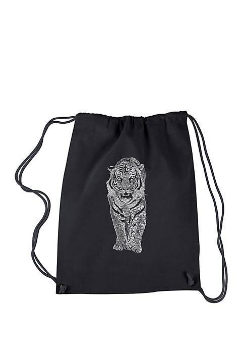 Drawstring Backpack - Tiger